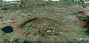 Mapa Vuelta Imbabura
